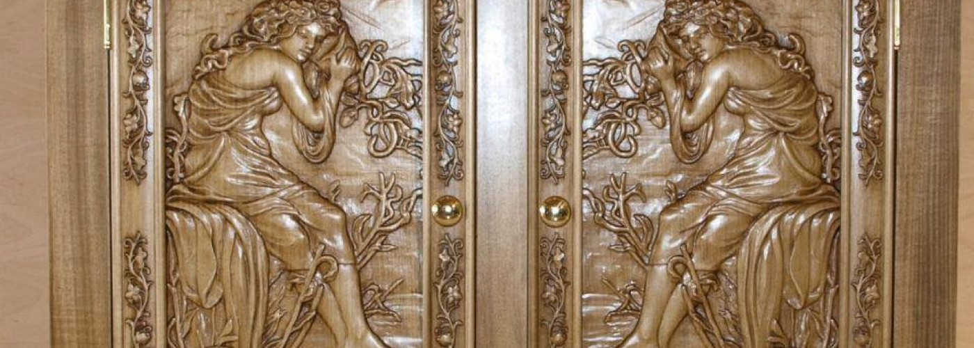Three Gryphons Carving Support using EnRoute featured image